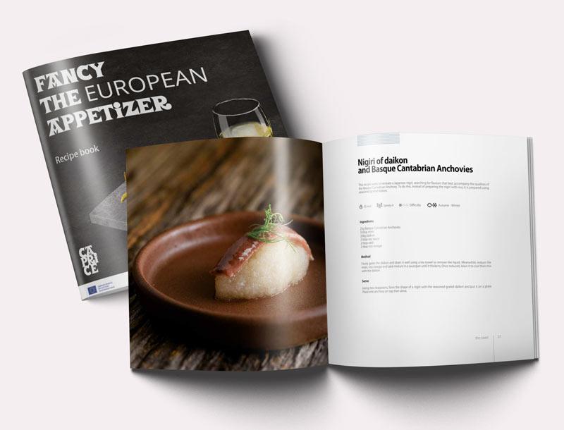 libro de recetas Caprice